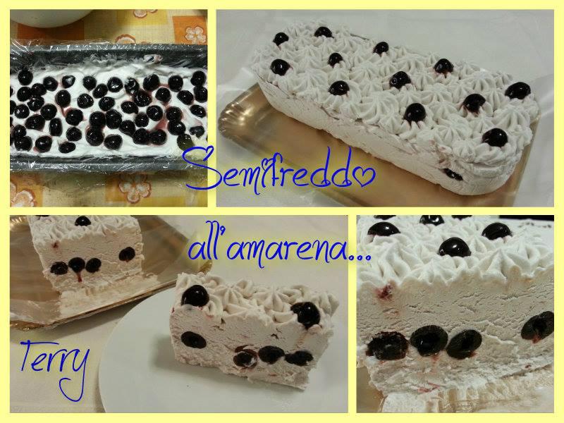 Ricetta semifreddo all'amarena