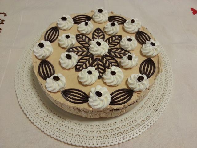 Ricetta torta gelato al caffè