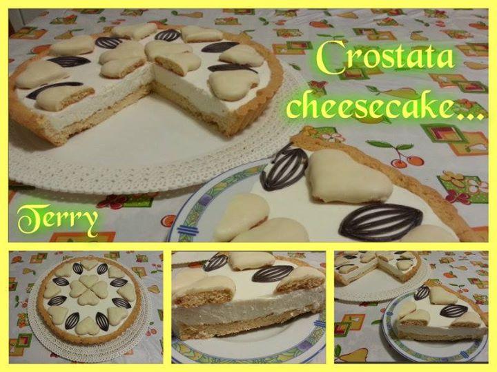 Ricetta crostata cheesecake
