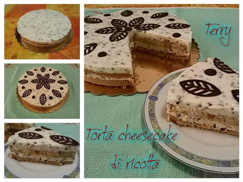 Ricetta torta cheesecake di ricotta