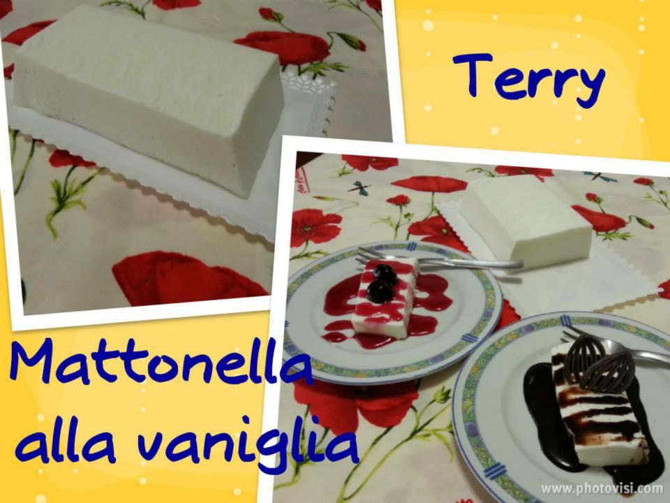 Ricetta mattonella alla vaniglia