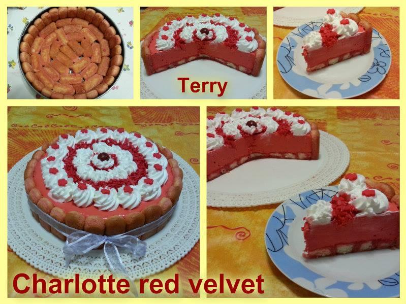Ricetta charlotte red velvet