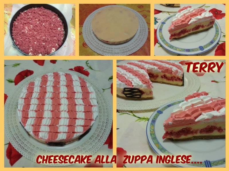 Ricetta cheesecake alla zuppa inglese