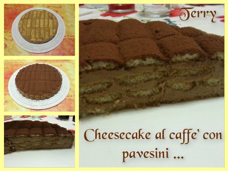 Ricetta cheesecake al caffè con pavesini