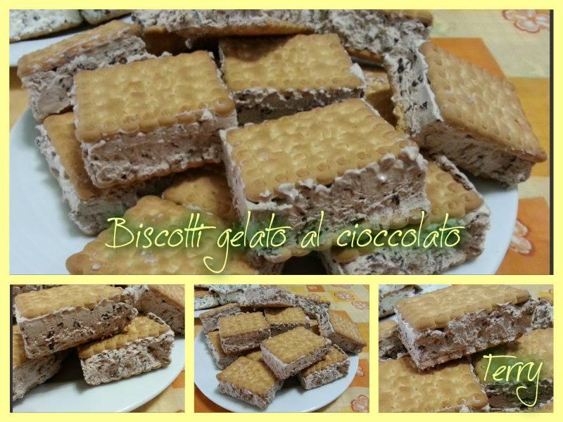 Ricetta gelati biscotto al cioccolato
