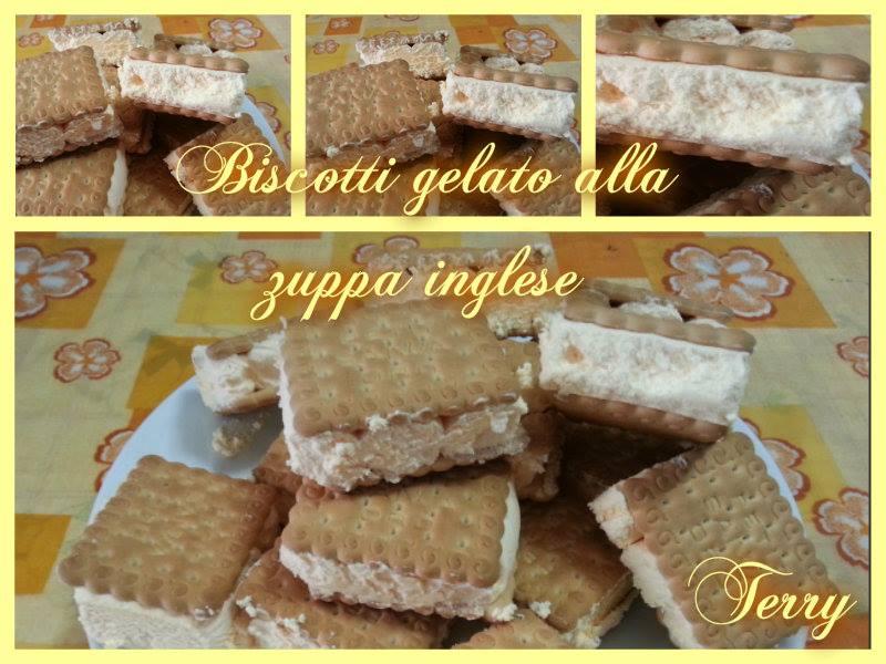 Ricetta gelati biscotto alla zuppa inglese