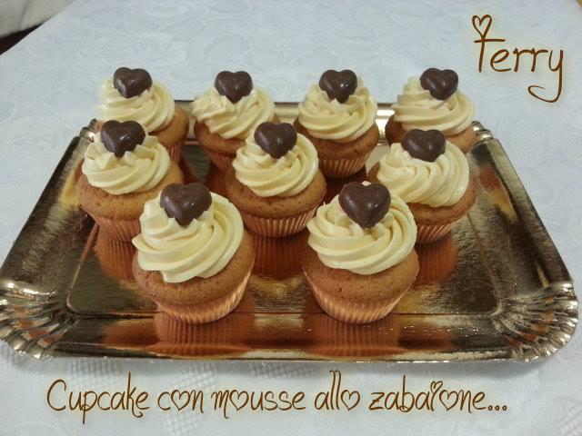 Ricetta cupcake con frosting allo zabaione