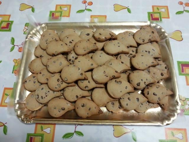 Ricetta biscotti gocciole
