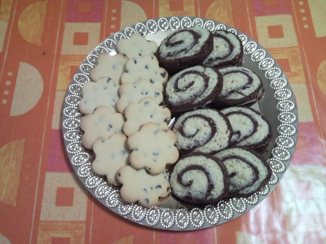 Ricetta biscotti bicolore