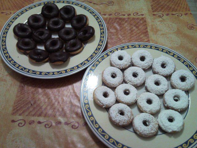 Ricetta mini donuts