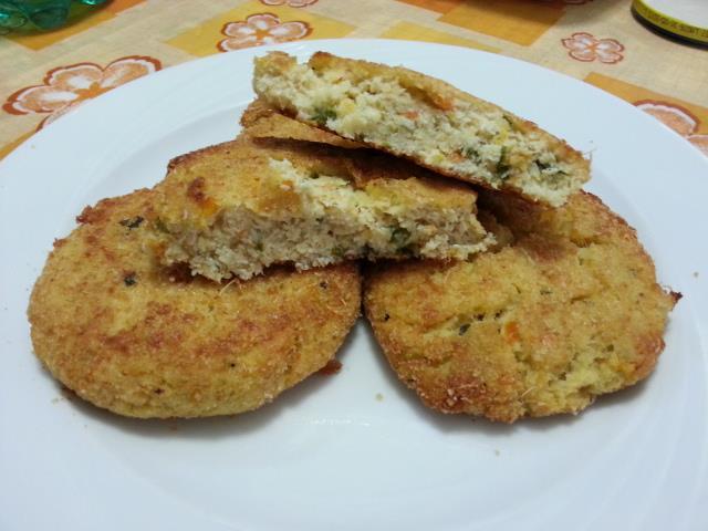 Ricetta hamburger di pollo e verdure