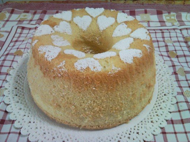 Ricetta chiffon cake