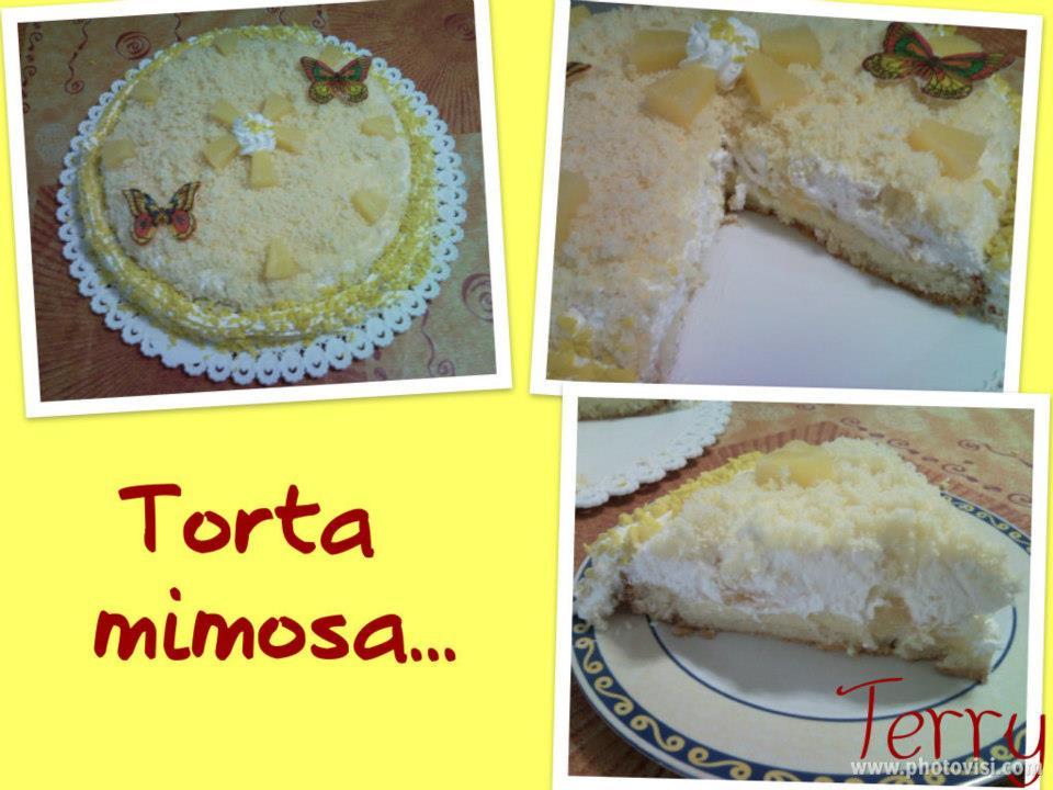Ricetta torta mimosa