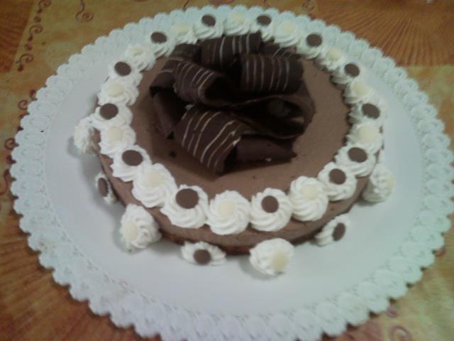 Ricetta torta semifreddo al cioccolato