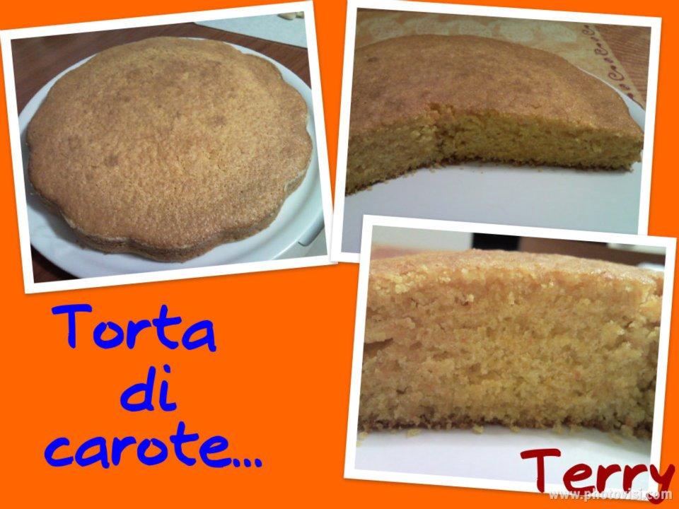 Ricetta torta di carote e arance