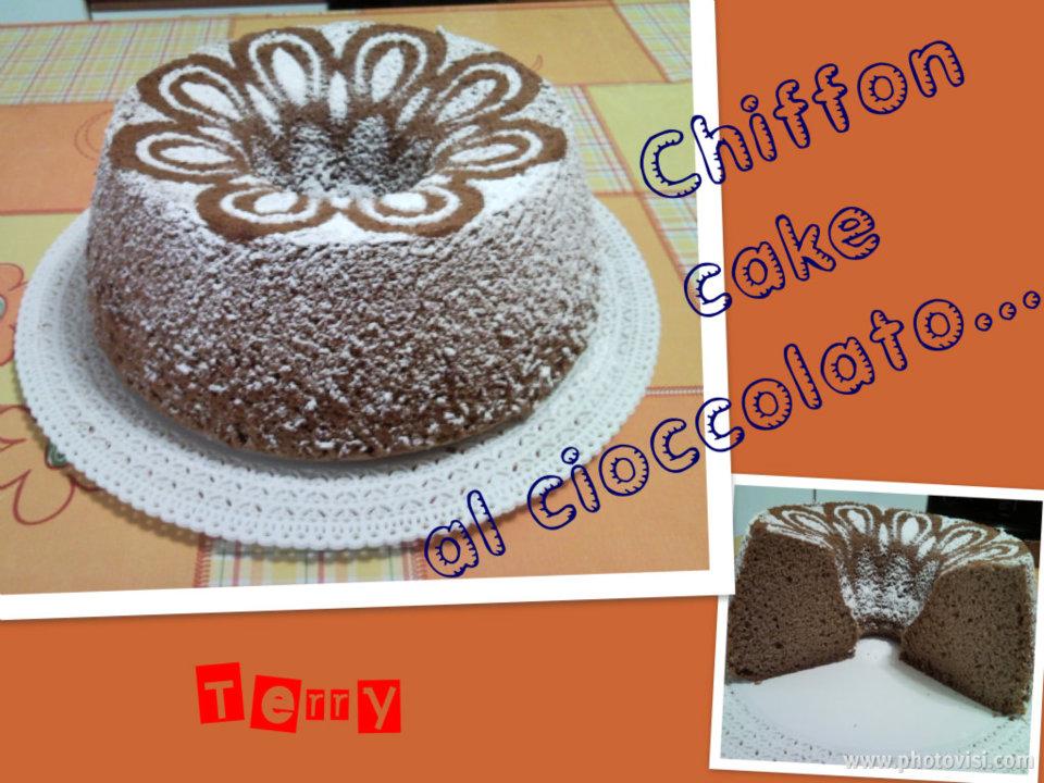Ricetta chiffon cake al cioccolato