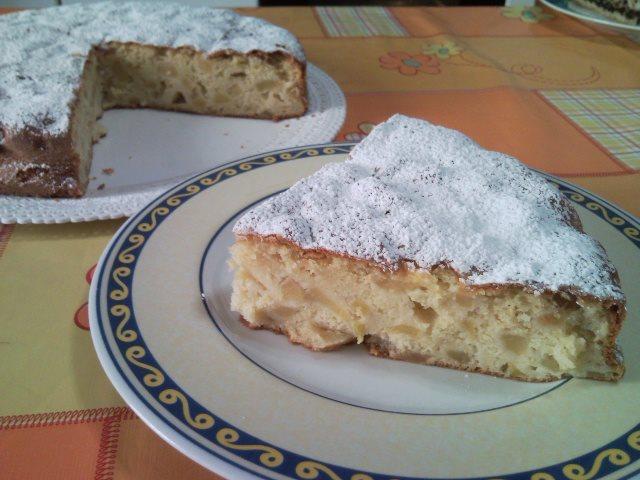 Ricetta torta di mele e succo d'arancia