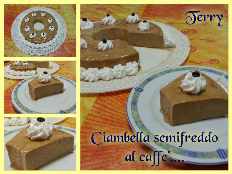 Ricetta ciambella semifreddo al caffè