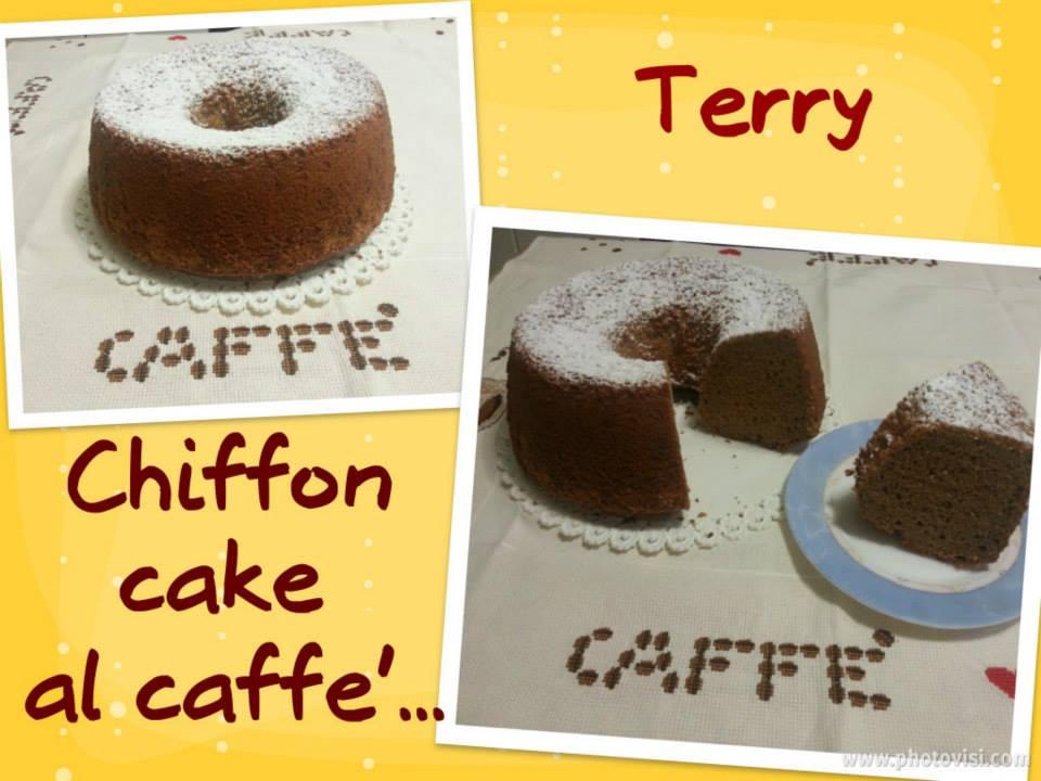 Ricetta chiffon cake al caffè