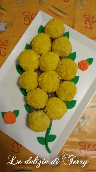 Ricetta mimosa di cupcake
