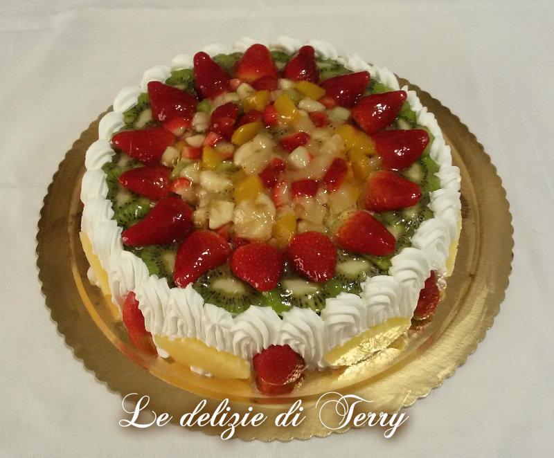 Ricetta torta tripudio di frutta