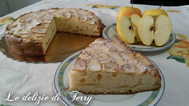 Ricetta torta di ricotta e mele