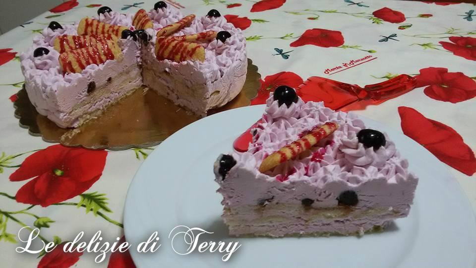 Ricetta torta gelato all'amarena