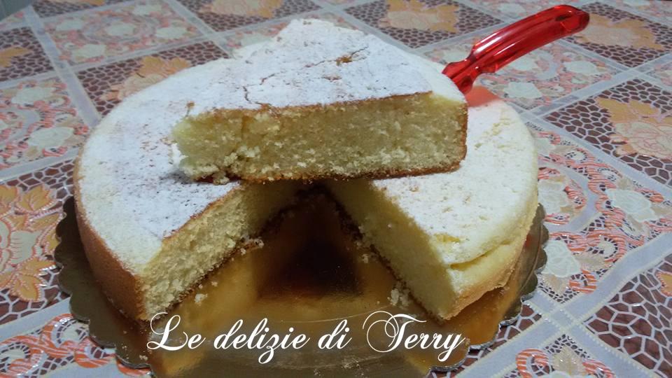 Ricetta torta al limone in padella