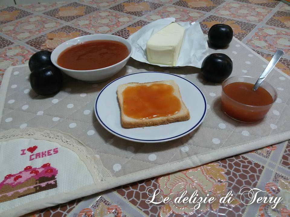 Ricetta marmellata di prugne bimby