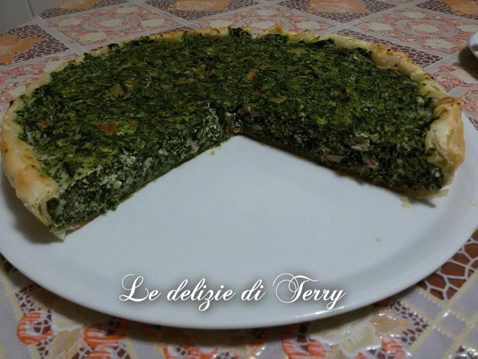 Ricetta torta salata con ricotta e spinaci
