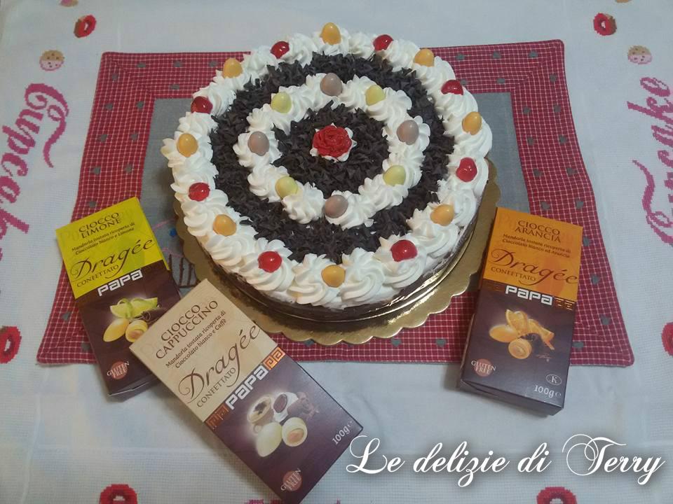 Ricetta torta mattonella con crema e panna