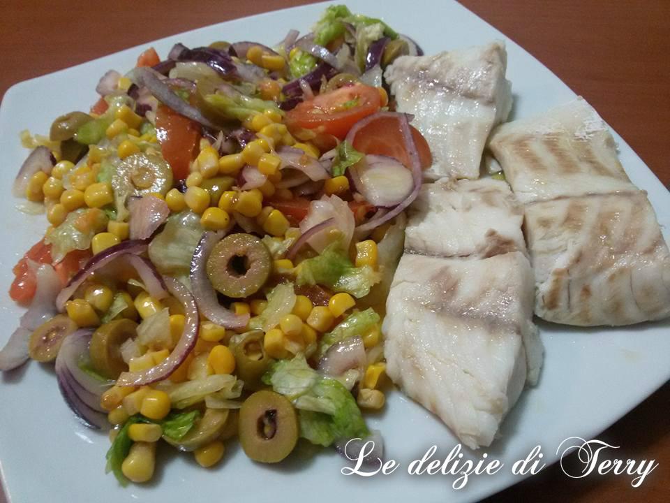 Ricetta insalata di cernia