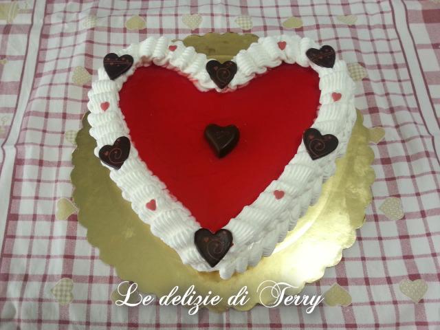 Ricetta cheesecake cuore