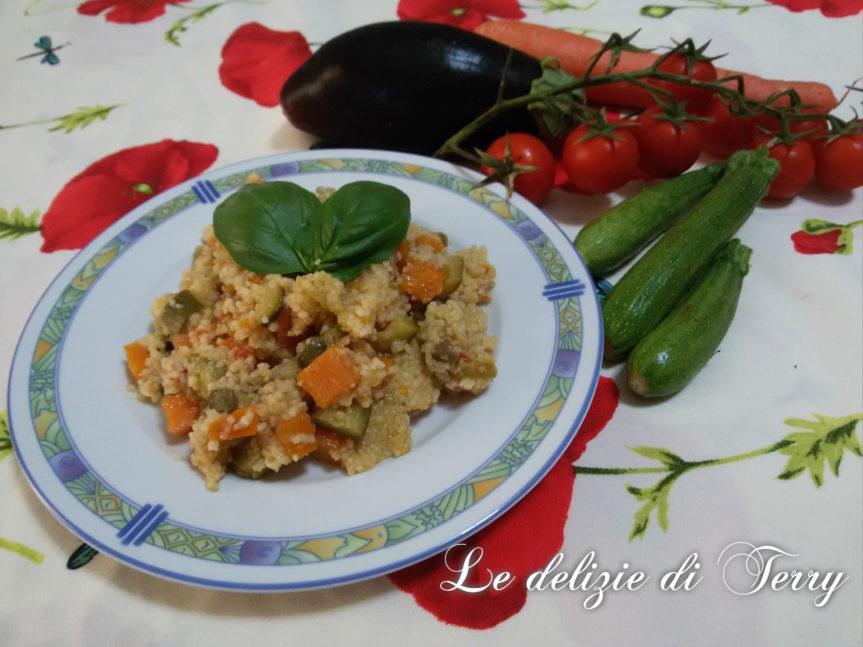 Ricetta cous cous alle verdure
