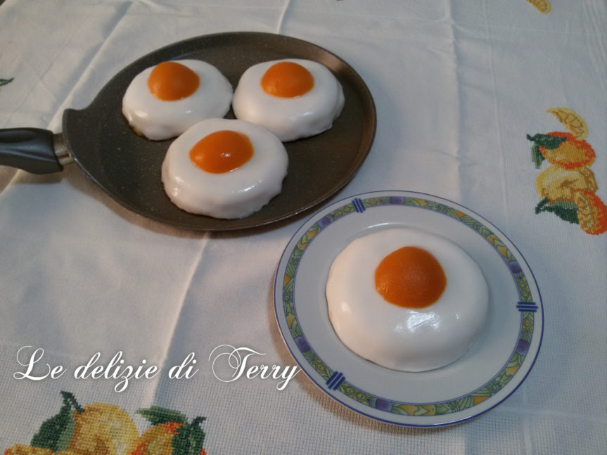 """Ricetta uova al tegamino """"dolci"""""""