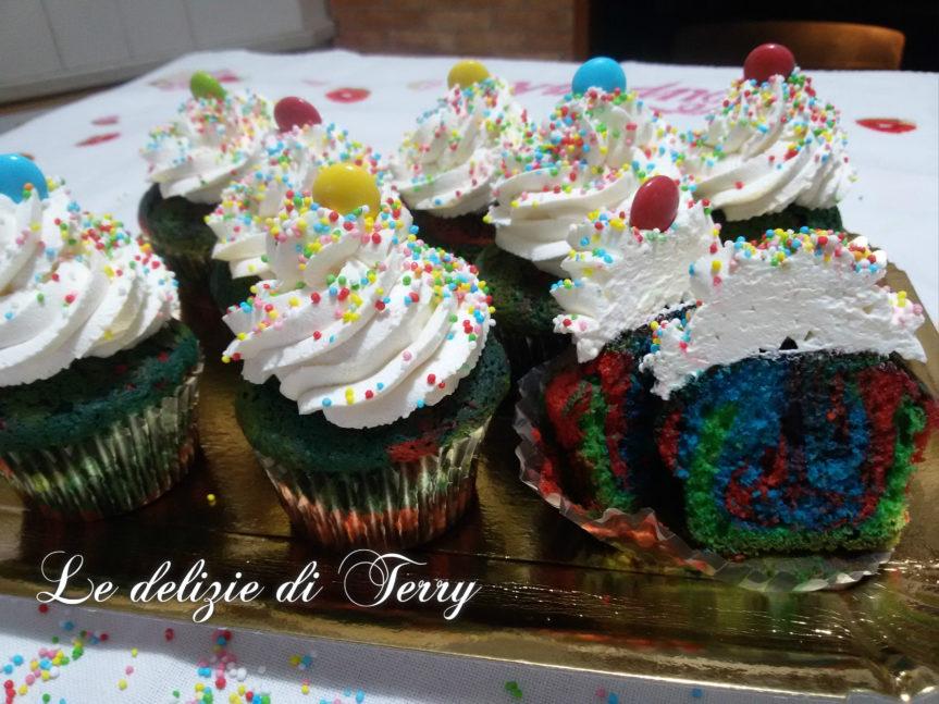 Ricetta cupcake per carnevale