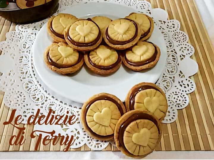 Ricetta Nutella biscuits